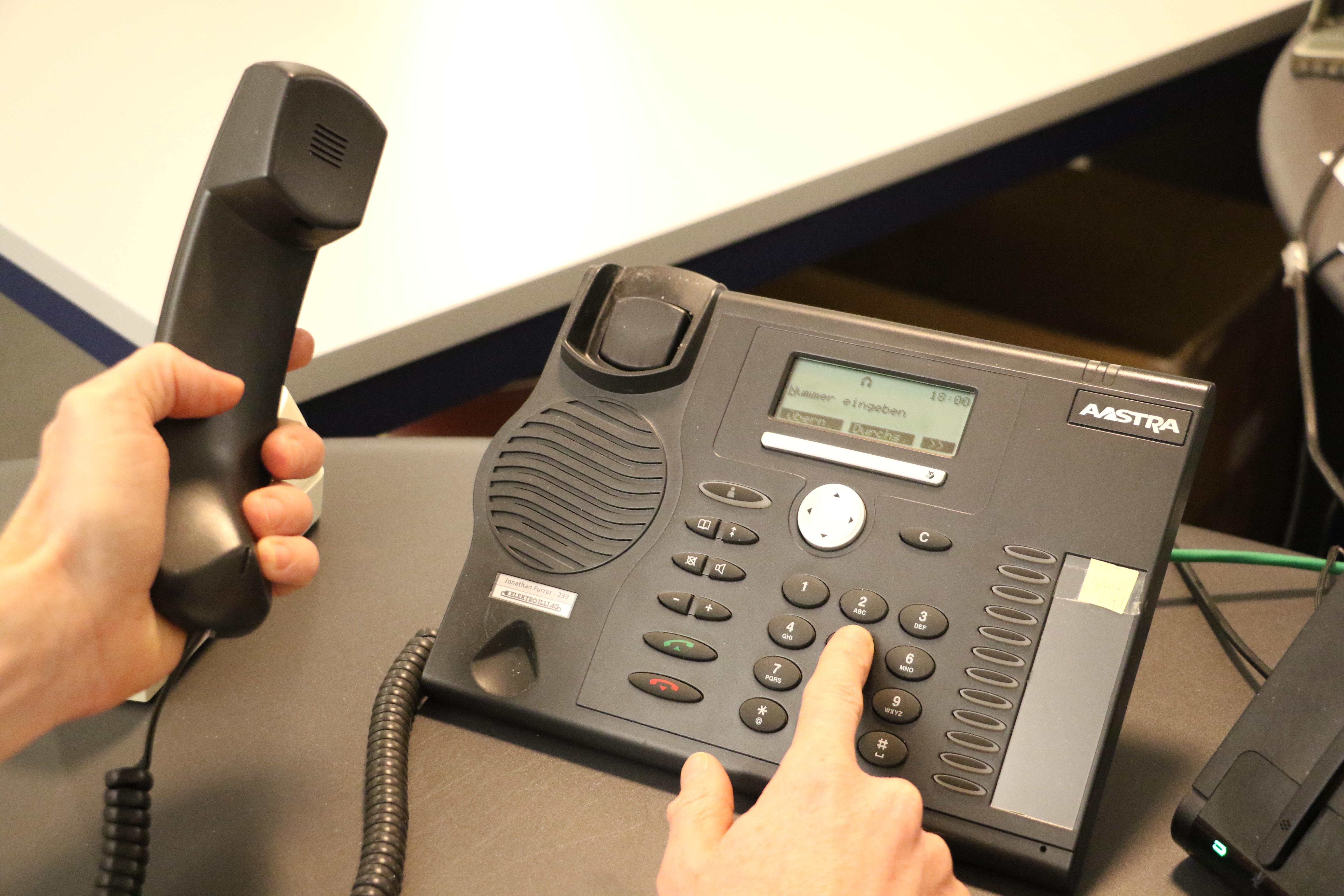 Telefonanrufe durch falsche Polizisten